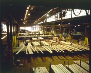 The Kiln-Dried inspection shed at Linden Lumber